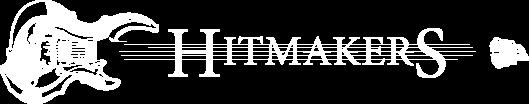 Hitmakers rocková hudební skupina - logo